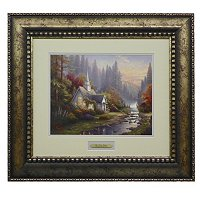 "Thomas Kinkade ""Forest Chapel"" Prestige Collection"