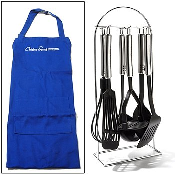 435-488 - BergHOFF® Munich Six-Piece Utensil Set w/ Apron