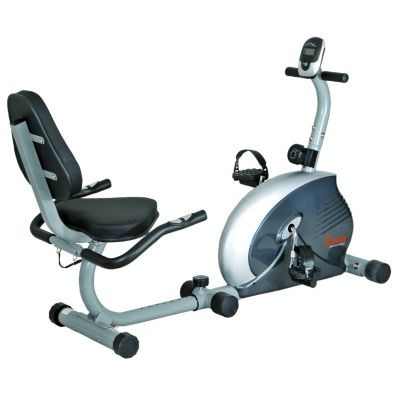 435-502 - Sunny Health & Fitness® Magnetic Recumbent Bike