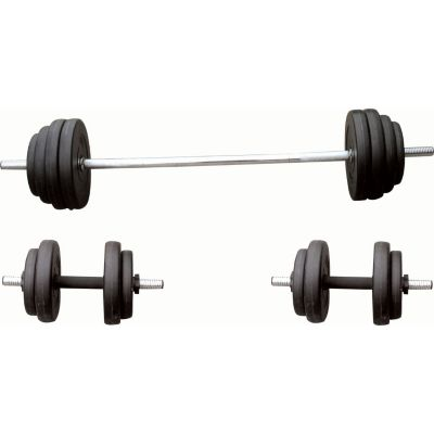 435-510 - Sunny Health & Fitness® Barbell & Dumbbell Set