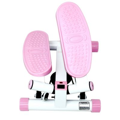435-522 - Sunny Health & Fitness® Pink Adjustable Twist Stepper
