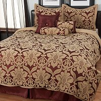 "North Shore Linens ""Galloway"" Seven-Piece Comforter Set"