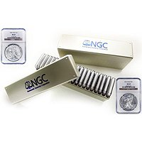 1986 - 2013 Silver Eagle Set NGC MS69