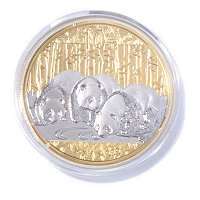 2013 1 OZ China Panda 10 Yuan Gold Select Coin in Display Box