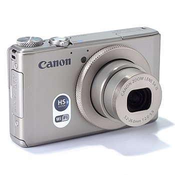 436-004 - Canon PowerShot 5x Zoom 12MP Camera w/ Leather Case, 8GB SD Card & HDMI Cable