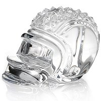 Waterford Crystal Football Helmet Paperweight