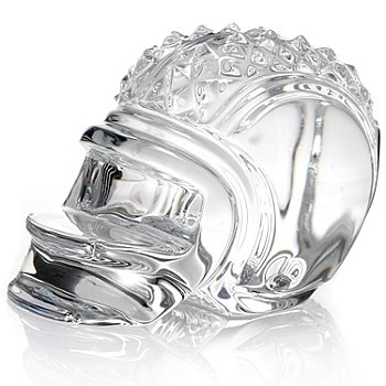 436-082 - Waterford® Crystal 2.75'' Paperweight Football Helmet