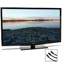 "Toshiba 50L2200U 50"" Class LED HDTV w/ 3 HDMI and canvas certificate"