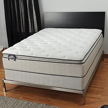 436-096 - Simmons® BeautySleep® ''Manhattan'' Plush Pillowtop Mattress Set