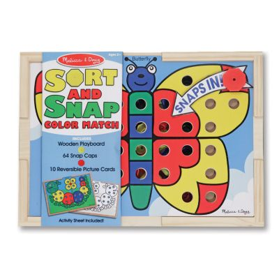 436-133 - Melissa & Doug® Sort and Snap Color Match