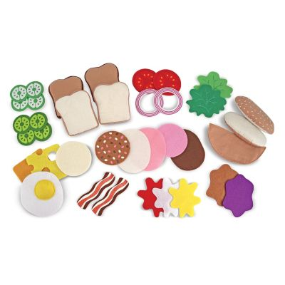436-141 - Melissa & Doug® Felt Food Set