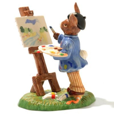 "436-236 - Royal Doulton® Bunnykins Budding Artist Limited Edition 4.5"" Figurine"