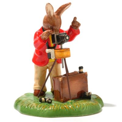 "436-238 - Royal Doulton® Bunnykins Say Cheese Limited Edition 4.5"" Figurine"