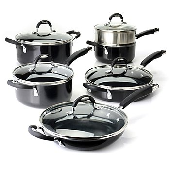 436-275 - Tramontina® All Generations Nonstick Aluminum 11-Piece Cookware Set