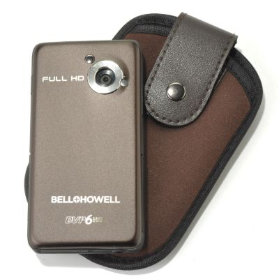 "436-307 - Bell+Howell® 3.5"" Pocket Cinema™ HD 1080p Camcorder w/ Built-in Projector"