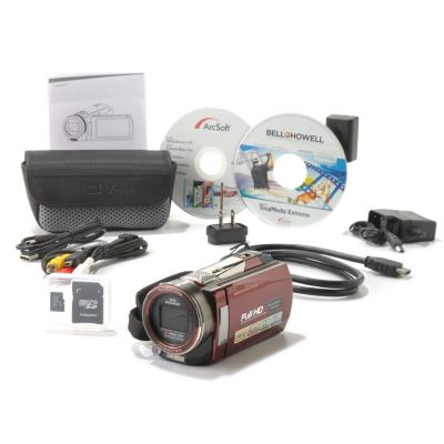 "436-309 - Bell+Howell® 3"" Rogue™ 16MP 10x Zoom HD 1080p Camcorder w/ Night Vision"