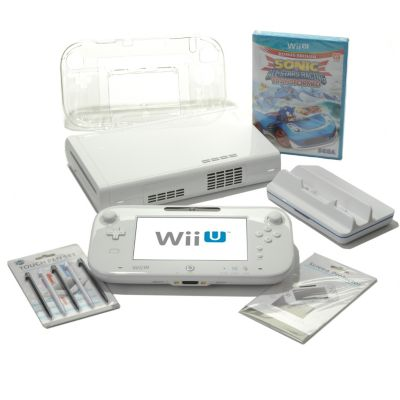 436-407 - Nintendo® Wii-U™ 8GB Basic Set Game Console & GamePad w/ Accessories