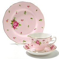 Royal Albert New Country Rose 3 Piece Tea Set
