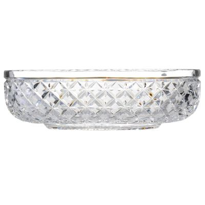 "436-437 - House of Waterford® Designer Studio Lace 10"" Crystal Bowl"