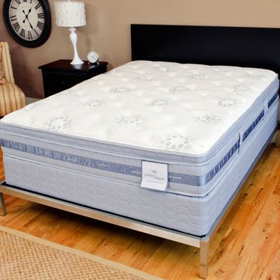 "436-554 - Serta® Perfect Sleeper® ""Prosperity"" Smart Surface™ Eurotop Mattress Set"