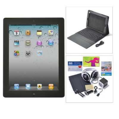 "436-558 - Apple® iPad® 9.7"" 4th Gen Wi-Fi or Wi-Fi+4G Tablet w/ Bluetooth® Accessories Kit"