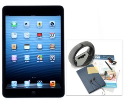 "436-573 - Apple® iPad® Mini 7.9"" LED Touch Wi-Fi or Wi-Fi+4G Tablet w/ Accessories & Gift Certificates"