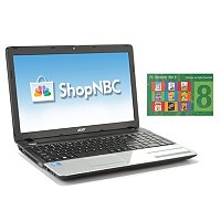 "Acer Aspire 15.6"" LED Notebook w/PC Elements Windows 8 Digital Download"