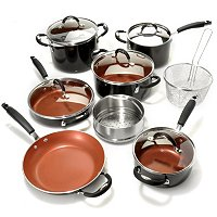Tramontina Color Nonstick Aluminum 14 Piece Cookware Set
