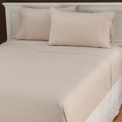 436-707 - Cozelle® Microfiber Double Marrow Four-Piece Sheet Set