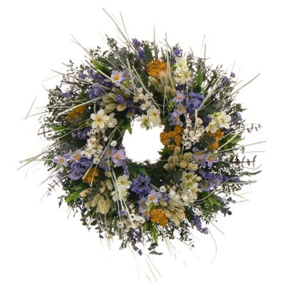 "436-735 - TCTC Awaken Spring 18"" Dried Floral Wreath"