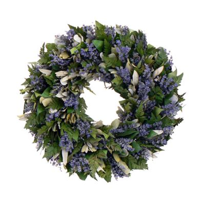 "436-741 - TCTC Enchanted Garden 18"" Dried Floral Wreath"