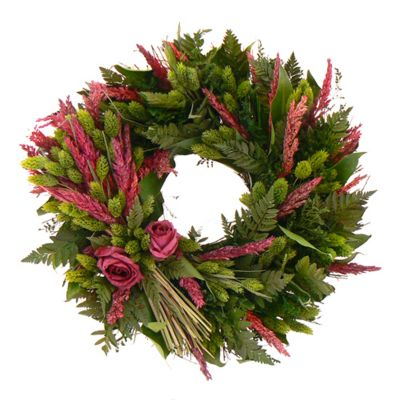 "436-746 - TCTC Love Eternal 16"" Dried Floral Wreath"