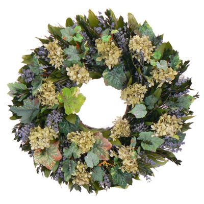 "436-757 - TCTC Vineyard Dreams 22"" Dried Floral Wreath"