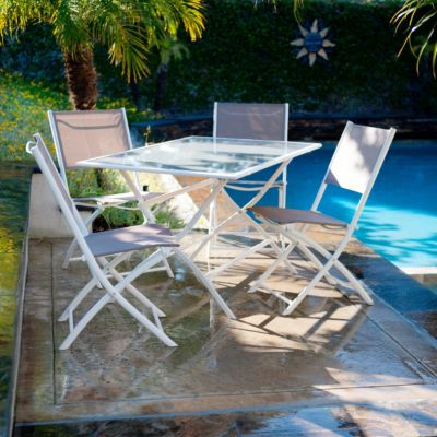 436-815 - RST™ Outdoor Miami Five-Piece Folding Dining Set