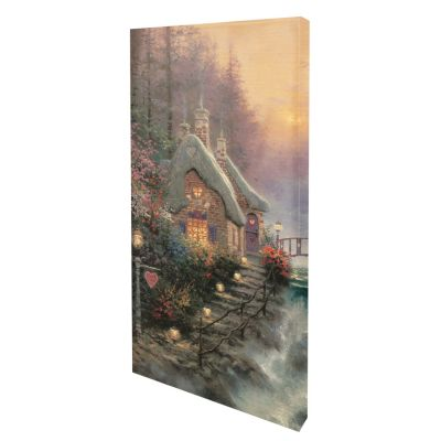 "436-861 - Thomas Kinkade ""Sweetheart Cottage II"" Gallery Wrap"
