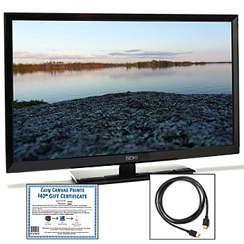 436-902 - Seiki™ 50'' LED Full HD 1080p 60Hz HDTV w/ HDMI Cable & Gift Certificate