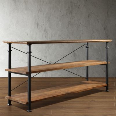 436-911 - Homebasica Rustic Inspired TV Stand