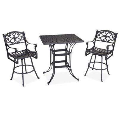 436-948 - Home Styles Biscayne Space Saving Rectangle Three Piece Bistro Set