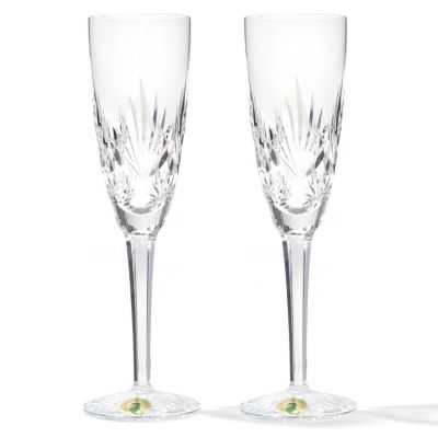 437-001 - Waterford® Crystal Fanlight Set of Two 5 oz Flutes