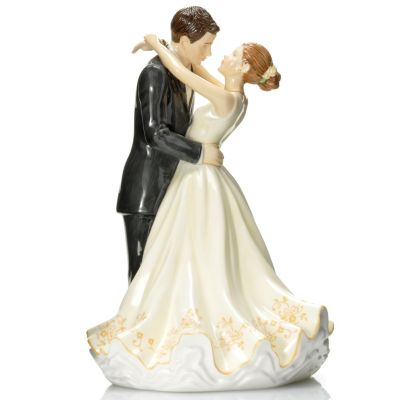 "437-014 - Royal Doulton® Occasions: Forever Figurine 9.25"" Bone China Cake Topper"