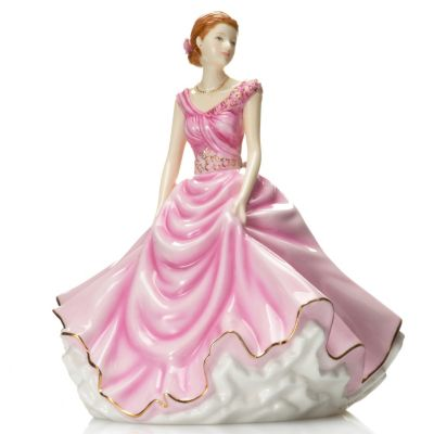 437-016 - Royal Doulton® Petites Donna: 2013 Figure of the Year Bone China Figurine