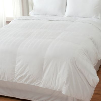 437-064 - Cozelle® 600TC Cotton Windowpane Duraloft® Down Alternative Comforter
