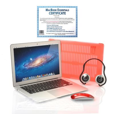 437-072 - Apple® MacBook Air Intel® Core™ i5 4GB RAM Notebook w/ Accessories & Software