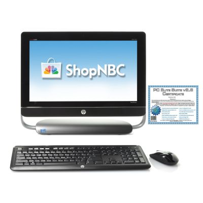"437-129 - HP 20"" TouchSmart Intel® Core™ i3 4GB RAM/1TB HD All-in-One Desktop w/ Software"