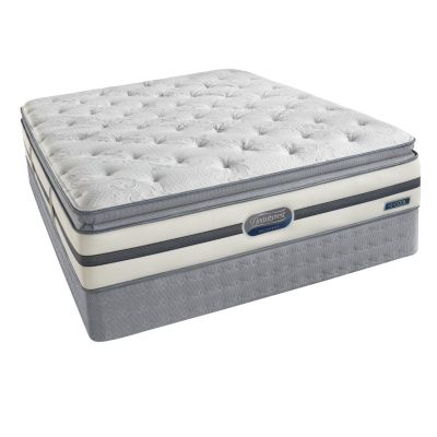 437-245 - Simmons® Beautyrest® Recharge™ Roxcove Plush Pillowtop Mattress Set