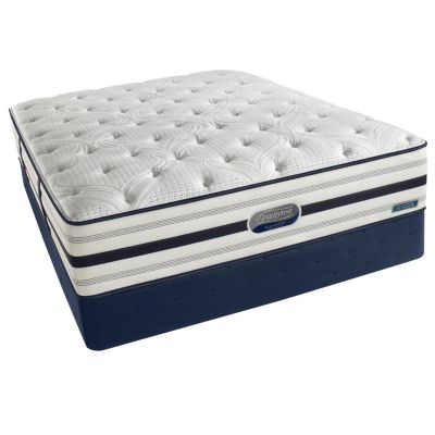 437-253 - Simmons® Beautyrest® Recharge™ World Class™ Romeo Plush Mattress Set