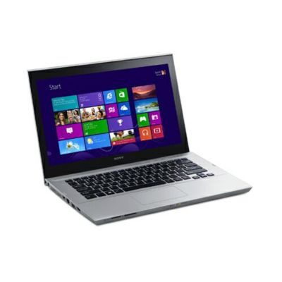 "437-291 - Sony VAIO 14"" Touchscreen Intel Dual Core 2.0GHz Windows 8 Silver Notebook Computer"