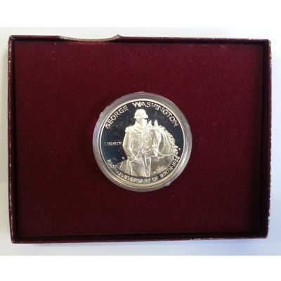 437-302 - 1982 Silver George Washington Commemorative Half Dollar Proof (S) Coin