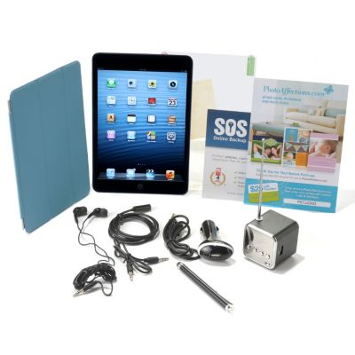 "437-312 - Apple® iPad® Mini 7.9"" LED Touch Mac iOS Tablet w/ Accessories & Gift Certificates"