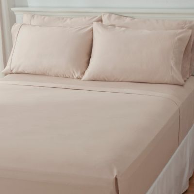 "437-488 - ""Lancaster"" 1000TC Easy Care Six-Piece Sheet Set"